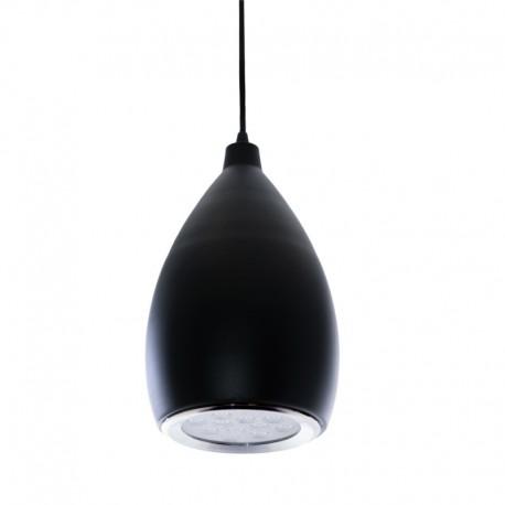 Lámpara LED Colgante Pera Negro 12W 1100Lm 30.000H Brynlee [HO-SUSP12W-A-B-WW]
