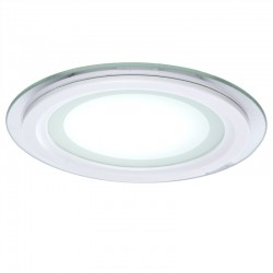 Foco Downlight  LED Circular con Cristal Ø160Mm 12W 900Lm 30.000H