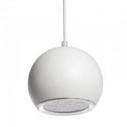 Lámpara LED Colgante Bola Blanco 12W 1100Lm 30.000H Marley [HO-SUSP12W-B-W-WW]