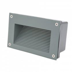 Conector Recto para Carril Focos de LEDs Color Negro