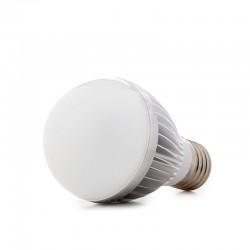 Bombilla de LEDs Esférica E27 Dimable 5W 425Lm 30.000H
