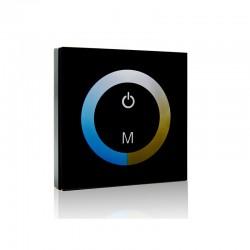 Controlador Empotrable Táctil Tira LED Duo (Blanco Frío-Cálido) 12-24VDC ► 144/288W
