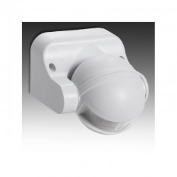 Sensor Movimiento Superficie 180º IP44 ►1200/300W [SB-BS039]