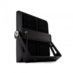 Carril para Focos de LEDs 1M Color Negro con Conector