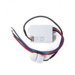 Sensor Movimiento Empotrar Mini 140º ►300W