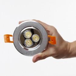 Foco Downlight  LED  Circular 3W 300Lm 30.000H