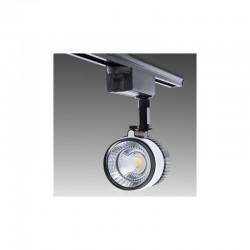 Foco Carril LED Monofásico COB 20W 1800Lm 30.000H Leilani