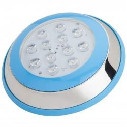 Foco de Piscina de LEDs Montaje Superficie Ø230Mm 12W Blanco Natural