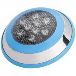 Foco de Piscina de LEDs Montaje Superficie Ø230Mm 9W Multicolor con Mando