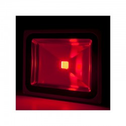 Foco Proyector LED IP65 Brico 50W 4250Lm 30.000H Rojo