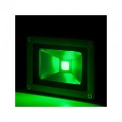 Foco Proyector LED IP65 Brico 10W 850Lm 30.000H Verde