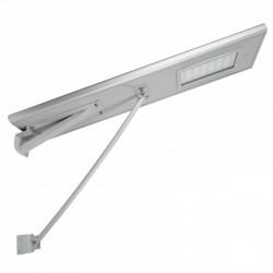 Farola LED Solar (Panel 18V-65W) 25W 2600Lm 40-50 H