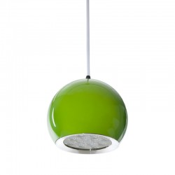 Lámpara LED Colgante Bola Verde 12W 1100Lm 30.000H Rowan [HO-SUSP12W-B-G-WW]