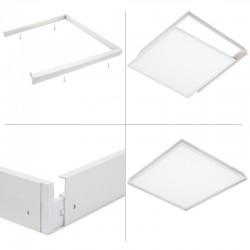 Marco Instalación Superficie Panel LED 30x30Cm