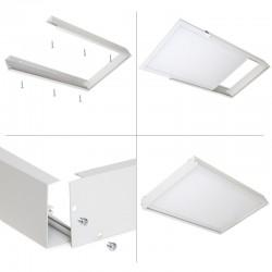 Marco Instalación Superficie Panel LED 60X30Cm
