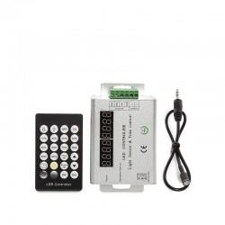 Controlador Tira LED Sensor Crepuscular/Temporizador 12-24VDC ► 144/288W