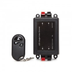 Dimmer Tira LED Mando a Distancia 12-24VDC ► 96/192W