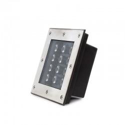 Foco LED IP67 Empotrar 12W 1140Lm 30.000H Trinity