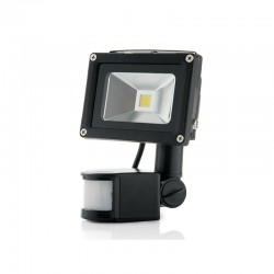 Foco Proyector LED IP65 Detector Movimiento 10W 850Lm 30.000H
