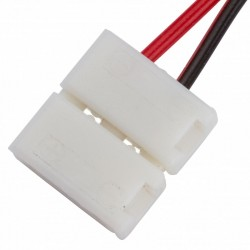 Conector Tira LED SMD5050/5630 2 Vías Simple 12/24VDC