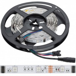 Tira LED 150 LEDs 5M 12VDC SMD5050 Digital RGB GR-LDT-W30DIGRGB