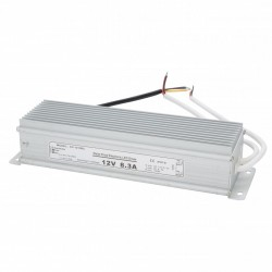 Transformador LED 100W 230VAC/12VDC IP67