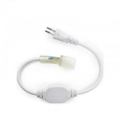 Enchufe Conector 220V Neon Flex 80
