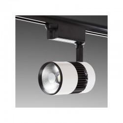 Foco Carril LED Monofásico 20W 2000Lm 30.000H Annabelle