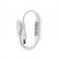 Controlador-Dimmer Mini Tira LED Unicolor 12-24VDC ► 144W